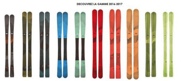 DECOUVREZ NOS GAMMES 2016-2017