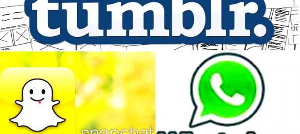Tumblr Snapchat WhatsApp - Logo
