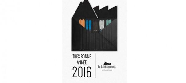 VOEUX 2016 - La Fabrique du Ski
