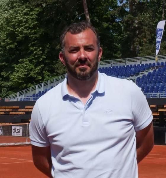 Thierry Ascione, Directeur du Tournoi OPEN PARC Auvergne-Rhône-Alpes 2021